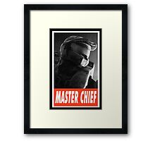 -GEEK- Master Chief Framed Print