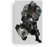 Team Fortress 2 - Heavy Robot w/ Minigun (BLU) [Vector] Canvas Print
