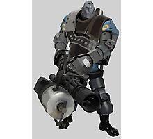 Team Fortress 2 - Heavy Robot w/ Minigun (BLU) [Vector] Photographic Print