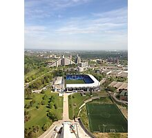 Montreal Olympic Stadium Photographic Print