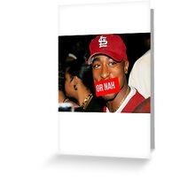 2Pac or Nah Supreme SALE Greeting Card