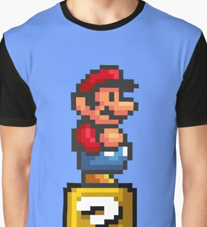 MARIO PIXEL DESIGN Graphic T-Shirt