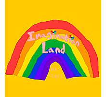 Imagination Land Rainbow Collection Photographic Print