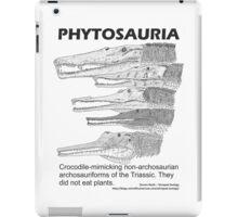 Phytosaurs! iPad Case/Skin