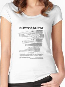 Phytosaurs! Women's Fitted Scoop T-Shirt
