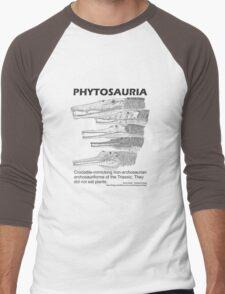 Phytosaurs! Men's Baseball ¾ T-Shirt