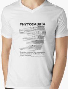 Phytosaurs! Mens V-Neck T-Shirt