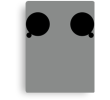Cyberman Eyes Canvas Print