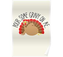 A Tantalizing Turkey Poster