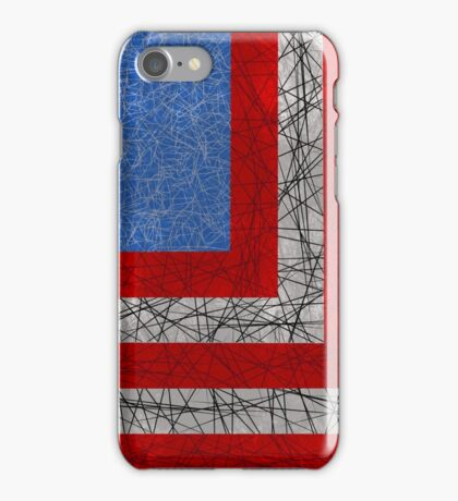 American Lines iPhone Case/Skin