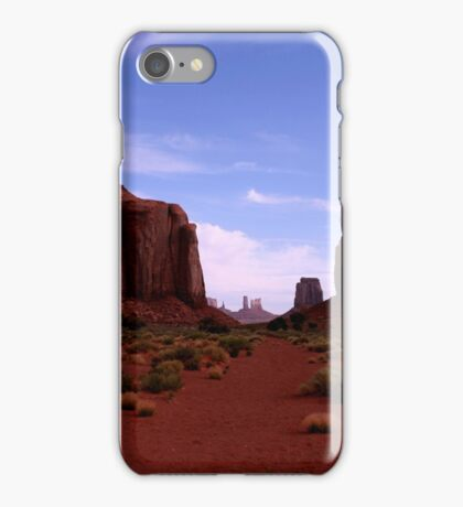 North Window, Monument Valley, New Mexico iPhone Case/Skin