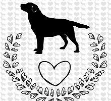 Labrador Love by Carol Vega