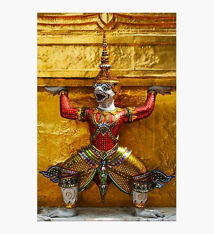 Guardian of Grand Palace in Bangkok, Thailand Photographic Print