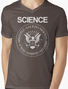 Science Rocks Mens V-Neck T-Shirt