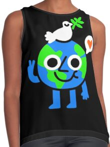 World Peace & Love Contrast Tank