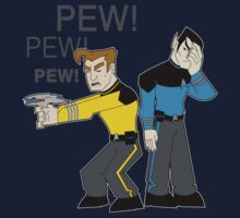 Pew! Pew! Jim by DrewBird