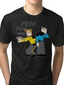 Pew! Pew! Jim Tri-blend T-Shirt