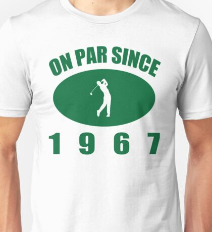 1967 Golfer's Birthday Unisex T-Shirt