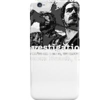Terriers Dolworth and Pollack Investigations iPhone Case/Skin