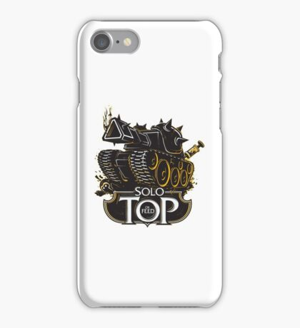 TOP OR FEED iPhone Case/Skin