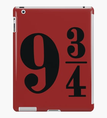 Platform 9 & 3/4 iPad Case/Skin