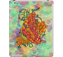 Tie Dyed Butterfly  iPad Case/Skin
