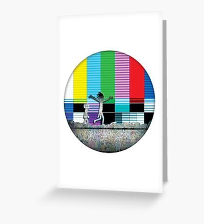 Come watch TV - Rick and Morty Greeting Card