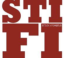 STIFI STICKY FINGERS by brooklynknows