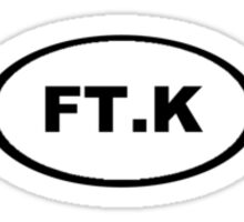 FTK (for the kids) Sticker