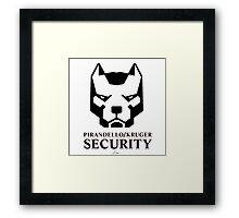 Pirandello/Kruger Security - Mirror's Edge Framed Print