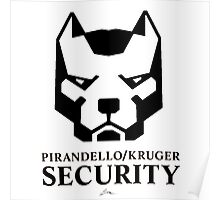 Pirandello/Kruger Security - Mirror's Edge Poster