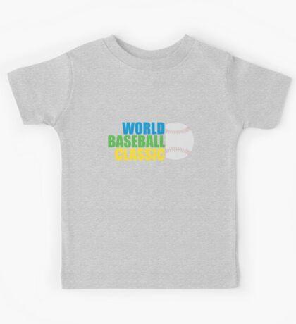 WORLD BASEBALL CLASSIC 2017 Kids Tee