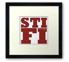 Sticky Fingers STIFI Framed Print