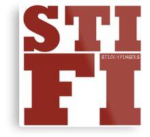 Sticky Fingers STIFI Metal Print