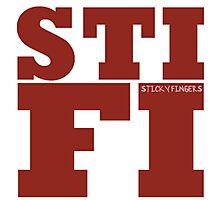 Sticky Fingers STIFI Photographic Print