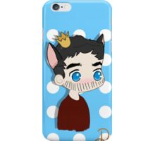 King on the Chessboard iPhone Case/Skin