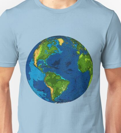 Our Home Planet:  Earth Unisex T-Shirt
