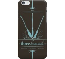 The Three Broomsticks in Blue iPhone Case/Skin