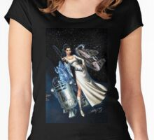 princes leia Women's Fitted Scoop T-Shirt