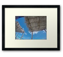 An Afternoon in Cuba Framed Print
