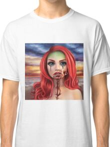 Hooked Mermaid Classic T-Shirt
