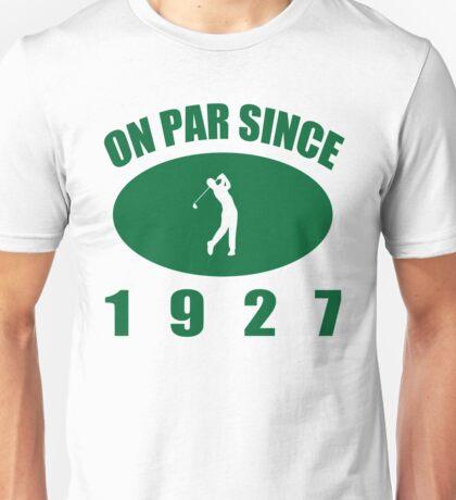 1927 Golfer's Birthday Unisex T-Shirt