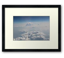 High Above Me Framed Print