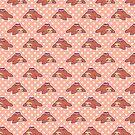 Tea Sloth Polk-a-dot Pattern by SaradaBoru