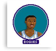 Muggsy Bogues - Charlotte Hornets Canvas Print