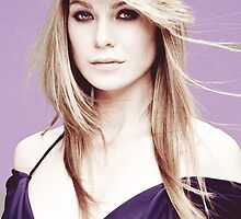Ellen Pompeo - Purple by cristinaandmer
