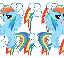 Mane 6 Mugs: Rainbow Dash by Steven Hoag
