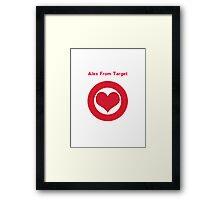 Alex from Target Framed Print