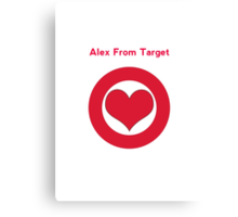 Alex from Target Canvas Print