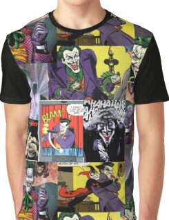 Joker Collage Graphic T-Shirt
